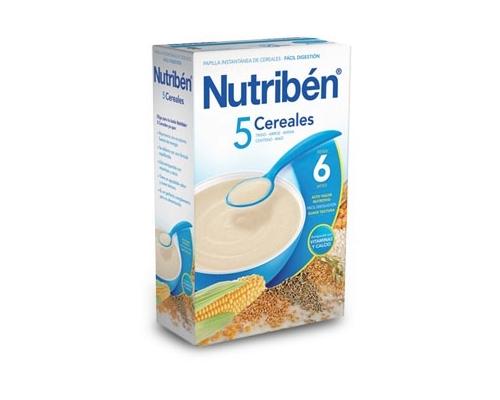 NUTRIBEN 5 CEREALES - (300 G )
