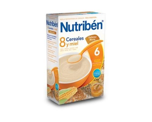 NUTRIBEN 8 CEREALES Y MIEL...