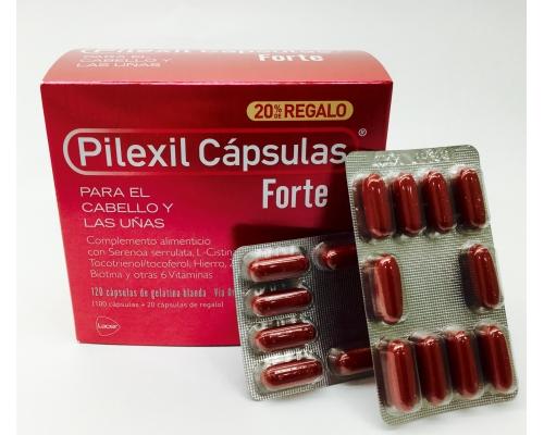 PILEXIL CÁPSULAS FORTE (120...